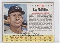 Roy McMillan [Authentic]
