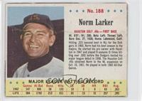 Norm Larker [Good to VG‑EX]