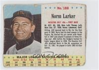 Norm Larker [Authentic]