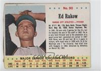 Ed Rakow [Authentic]
