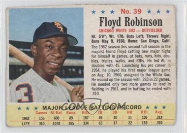 1963 Post - [Base] #39 - Floyd Robinson