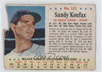 Sandy Koufax [Authentic]