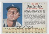 Don Drysdale [Authentic]