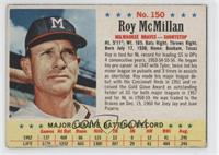 Roy McMillan [Authentic]