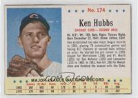 Ken Hubbs [Authentic]