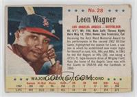 Leon Wagner [Authentic]