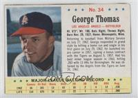 George Thomas [Authentic]
