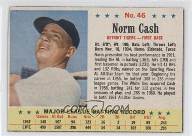 1963 Post #46 - Norm Cash