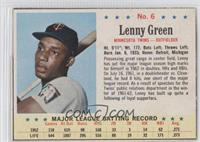 Lenny Green [Authentic]