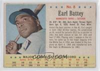 Earl Battey [GoodtoVG‑EX]