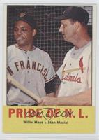 Pride of the N.L. (Willie Mays, Stan Musial)