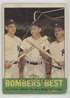 Bombers' Best (Tom Tresh, Mickey Mantle, Bobby Richardson) [Poor]