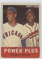 Power Plus (Ernie Banks, Hank Aaron) [Poor]