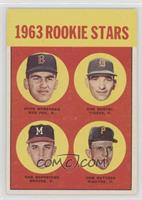 1963 Rookie Stars (Dave Morehead, Dan Schneider, Tom Butters) [Good to&nbs…
