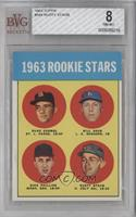 1963 Rookie Stars (Duke Carmel, Bill Haas, Dick Phillips, Rusty Staub) [BVG&nbs…