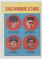 Randy Cardinal, Dave McNally, Don Rowe, Ken Rowe