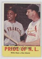 Pride of the N.L. (Willie Mays, Stan Musial) [Good to VG‑EX]