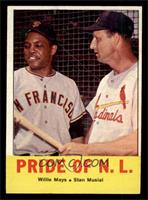 Pride of the N.L. (Willie Mays, Stan Musial) [NM]