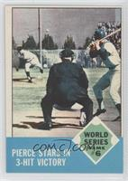 World Series Game #6 (Billy Pierce)