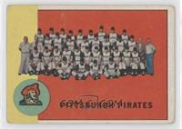 Pittsburgh Pirates Team [Poor to Fair]