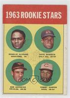 Rookie Stars (Rogelio Alvarez, Dave Roberts, Bob Saverine, Tommy Harper) [Good&…