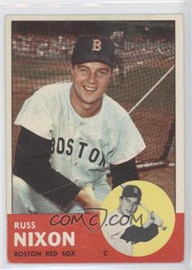 1963 Topps #168 - Russ Nixon