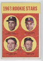 Dick Egan, Julio Navarro, Tommie Sisk, Gaylord Perry [GoodtoVG&#820…