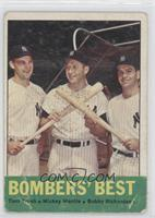 Bombers' Best (Tom Tresh, Mickey Mantle, Bobby Richardson) [Poor]