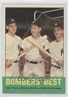 Tom Tresh, Mickey Mantle, Bobby Richardson