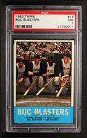 Buc Blasters (Smoky Burgess, Dick Stuart, Roberto Clemente, Bob Skinner) [PSA&n…