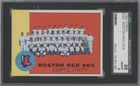 Boston Red Sox Team [SGC 88]