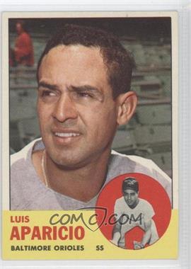 1963 Topps #205 - Luis Aparicio