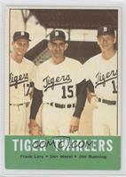 Tiger Twirlers (Frank Lary, Don Mossi, Jim Bunning)