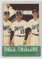 Tiger Twirlers (Frank Lary, Don Mossi, Jim Bunning)
