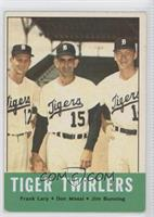 Tiger Twirlers (Frank Lary, Don Mossi, Jim Bunning) [Good to VG&#8209…
