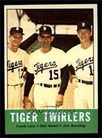 Tiger Twirlers (Frank Lary, Don Mossi, Jim Bunning) [EXMT]