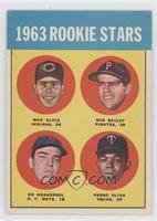 1963 Rookie Stars (Max Alvis, Bob Bailey, Ed Kranepool, Pedro Oliva)