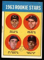 1963 Rookie Stars (Max Alvis, Bob Bailey, Ed Kranepool, Pedro Oliva) [VGE…