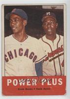 Power Plus (Ernie Banks, Hank Aaron) [Poor to Fair]