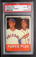 Power Plus (Ernie Banks, Hank Aaron) [PSA6.5]