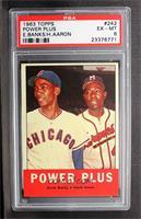Power Plus (Ernie Banks, Hank Aaron) [PSA6]