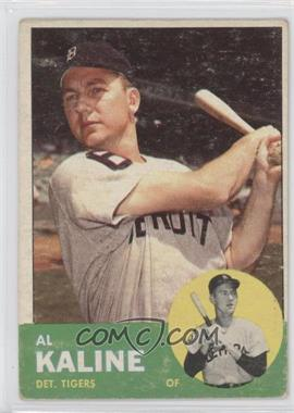 1963 Topps #25 - Al Kaline [Good to VG‑EX]