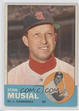 1963 Topps #250 - Stan Musial [Good to VG‑EX]