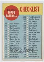 4th Series Checklist [GoodtoVG‑EX]