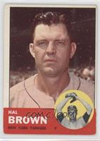 Hal Brown [Good to VG‑EX]