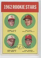1962 Rookie Stars (Sammy Ellis, Ray Culp, Jesse Gonder, John Boozer)