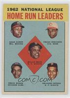 1962 NL Home Run Leaders (Hank Aaron, Frank Robinson, Willie Mays, Ernie Banks,…