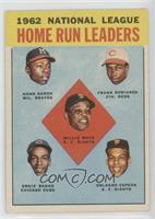 1962 NL Home Run Leaders (Hank Aaron, Frank Robinson, Willie Mays, Ernie Banks,…
