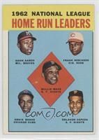 1992 NL Home Run Leaders (Hank Aaron, Frank Robinson, Willie Mays, Ernie Banks,…