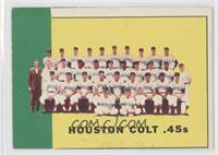 Houston Colt .45's Team